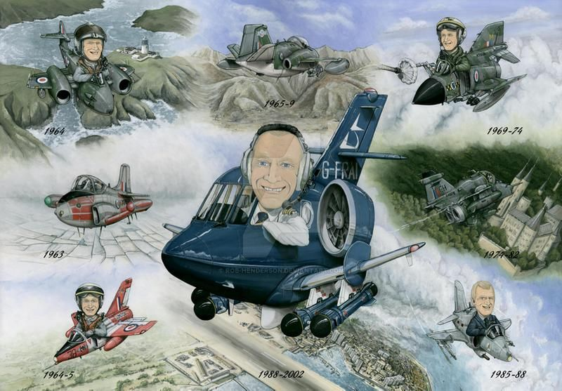Caricature Aircraft Pictures